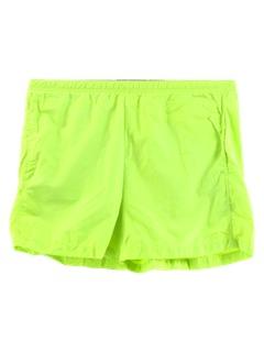 1990's Unisex Neon Sport Shorts