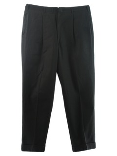 1950's Mens Wool Gabardine Slacks Pants
