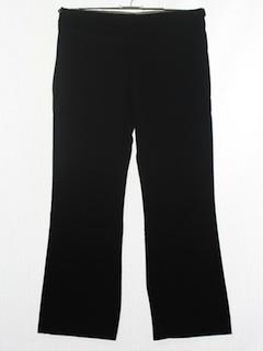 1970's Mens Flared Tuxedo Pants