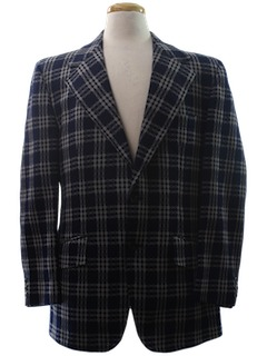 1970's Mens Mod Sport Coat Jacket