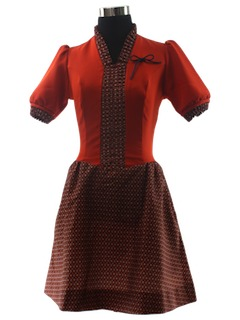 1970's Womens or Girls Dress
