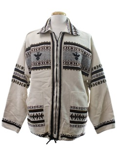 1980's Mens Hippie Jacket