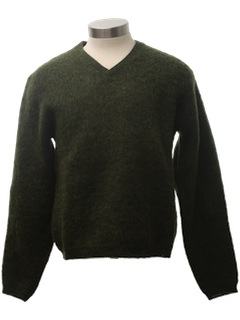 1950's Mens or Boys Wool Sweater