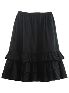 1980's Womens Square Dance Style Skirt
