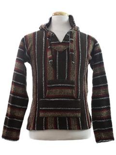 1980's Unisex Baja Hippie Jacket