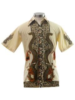 1970's Mens/Boys Hippie Shirt