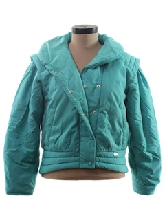 1980's Womens Totally 80s Ski Jacket