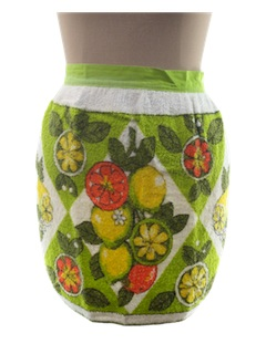 1970's Womens Accessories - Apron