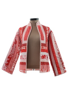 1980's Womens Patchwork Jacket