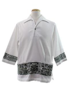 1970's Mens Island Shirt