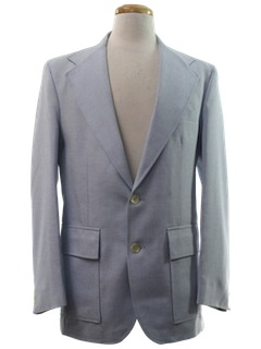 1970's Mens Sharkskin Jacket