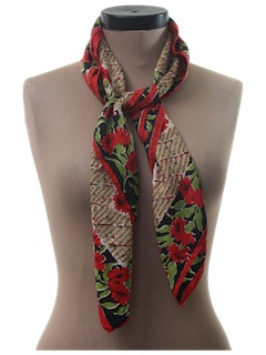 1960's Womens Accessories - Scarf