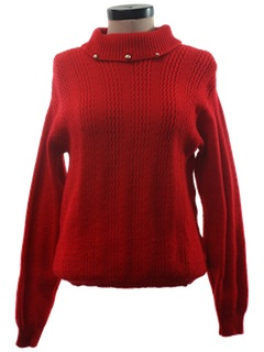 1960's Womens Mod Pullover Sweater
