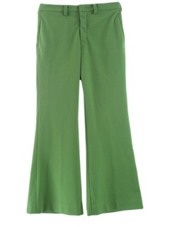 1970's Mens Bellbottom Disco Style Leisure Pants