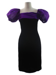 1990's Womens Wicked 90s Cocktail Dress