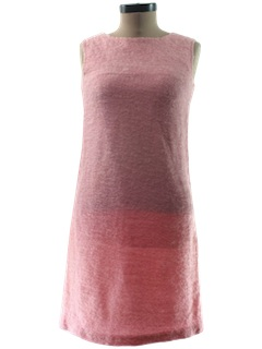 1960's Womens Wool A-line Dress