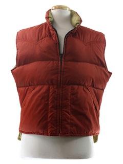 1980's Mens Ski Vest Jacket