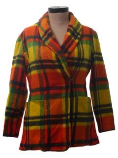 1960's Womens Mod Wool Blazer Style Jacket