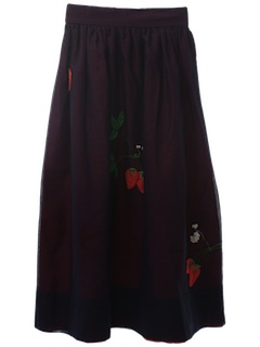 1970's Womens Hippie Style Skirt