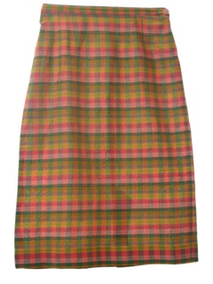 1960's Womens Pencil Skirt