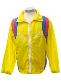 1980's Unisex Windbreaker Jacket
