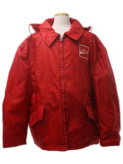 1980's Mens Windbreaker Work Jacket