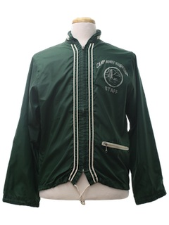 1960's Mens Windbreaker Style Jacket