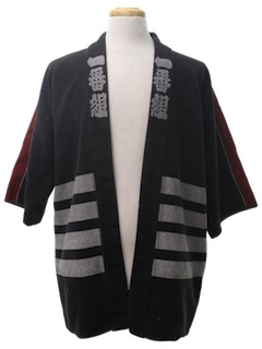 1980's Mens Kimono Jacket