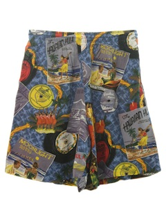 1990's Mens Hawaiian Shorts