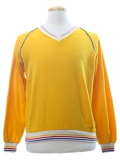 1970's Mens Pullover Sweatshirt