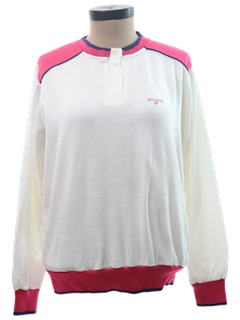 1980's Womens Totally 80s  Pullover Sweatshirt