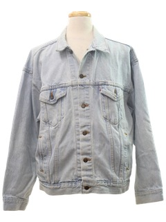 1990's Mens Grunge Denim Jacket