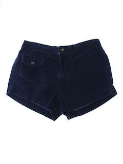 1970's Unisex Corduroy OP Style Shorts
