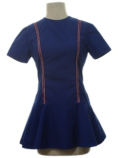 1960's Womens Cheerleader Dress