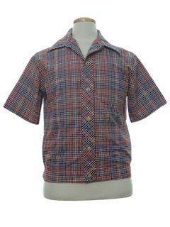 1960's Mens Mod Shirt Jac