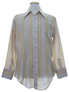 1970's Mens Mod Shirt