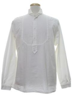 1990's Mens Pioneer 1800s Style Western Shirt