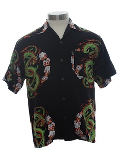 1990's Mens/Boys Dragon Shirt