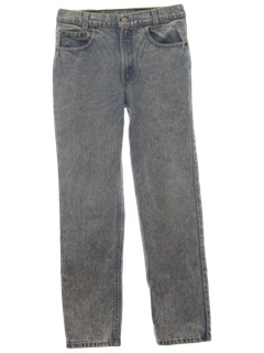 1980's Mens Levis Acid Washed Jeans Pants