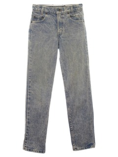 1980's Mens Levis Totally 80s Acid Washed Jeans Pants