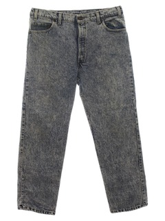 1990's Mens Levis Acid Washed Jeans Pants