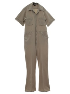 1970's Mens Leisure Style Jumpsuit