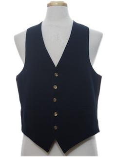 1970's Mens Reversible Vest