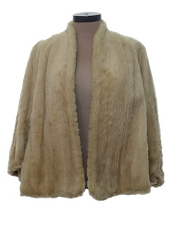1940's Womens Fabulous Forties Fur Jacket