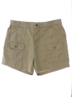 1980's Mens Cargo Shorts