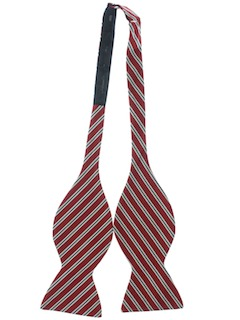 1970's Mens Wide Bowtie Necktie