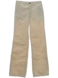1970's Mens Jeans-Cut Near Bellbottom Flared Pants