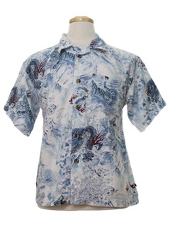 1990's Mens Dragon Shirt