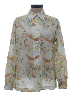 1970's Womens Designer Shirt