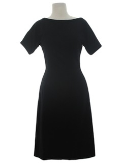 1950's Womens Fab Fifties Wool Wiggle Dress